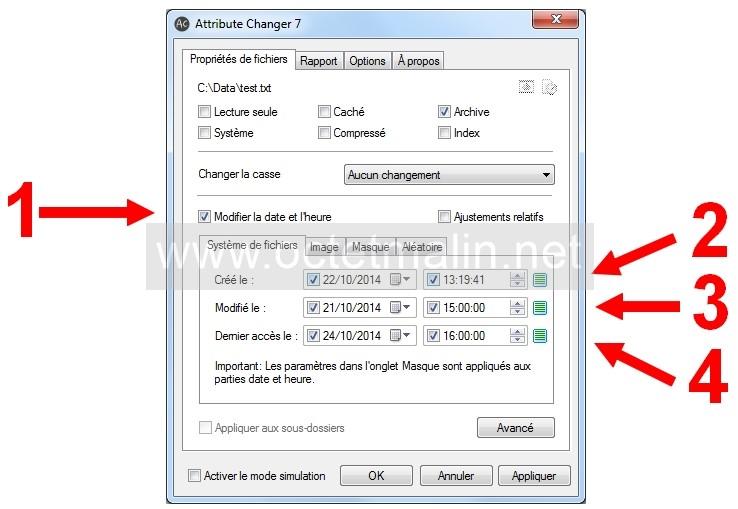 Attribute Changer Tutoriel Pour Modifier L Horodatage D Un Fichier