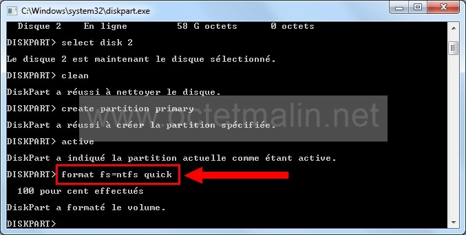 Installer <b>Windows</b> <b>7</b> <b>sur</b> une <b>clé</b> <b>USB</b>