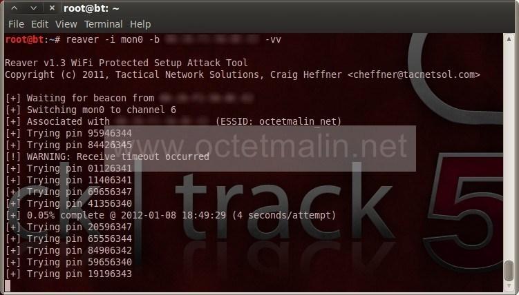 Reaver-wps - Cracker un point d'accès wifi WPA/WPA2 - www