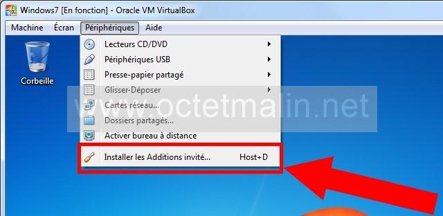 partage dossier virtualbox