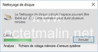 dossier système windows