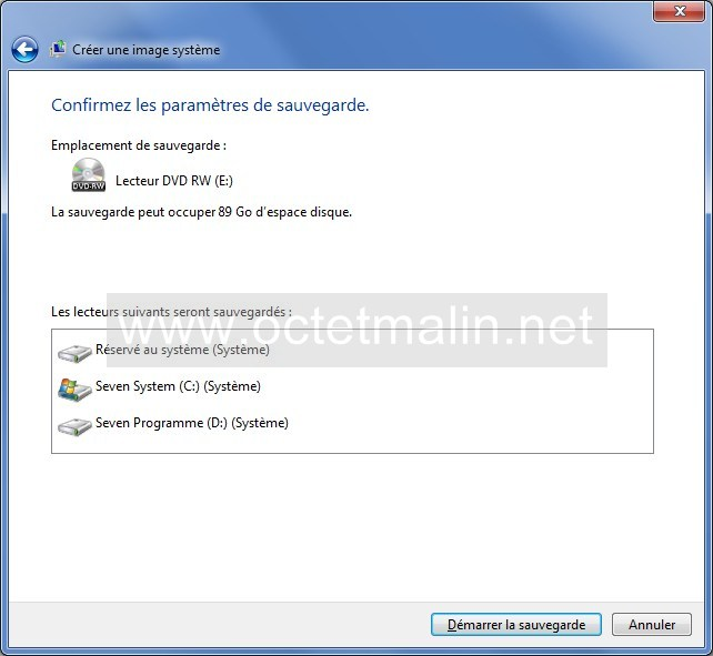 Windows 7 cr er un dvd de restauration syst me www for Ouvrir fenetre dos windows 7