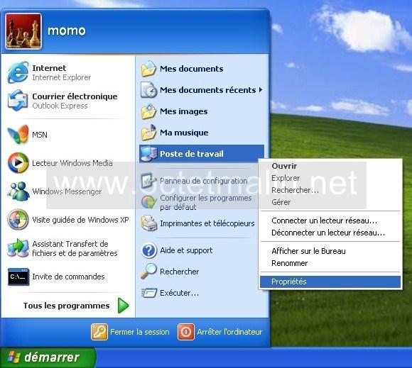 windows xp joindre un domaine active directory d 39 un windows server 2003. Black Bedroom Furniture Sets. Home Design Ideas